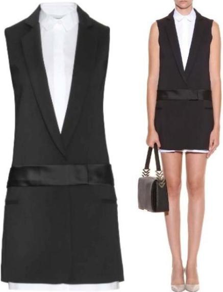 Vestido esmoquin - moda 2019